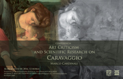 "Conferencia ""Art Criticism and Scientific Research on Caravaggio"""