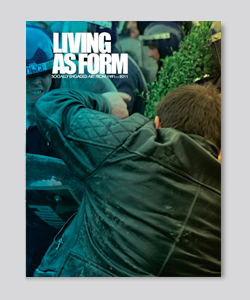 Portada del libro living as form