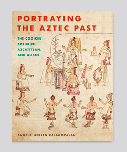 Portada del libro portraying the aztec